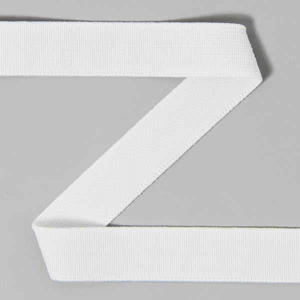 Bande élastique lisse 501 – blanc | YKK