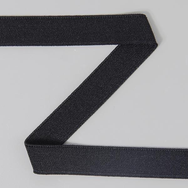 Bande élastique lisse 580 – noir | YKK