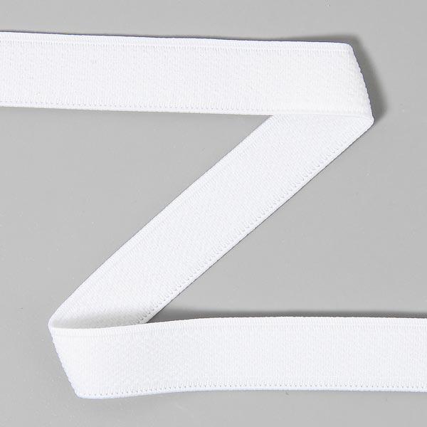 Bande élastique velours 501 – blanc | YKK
