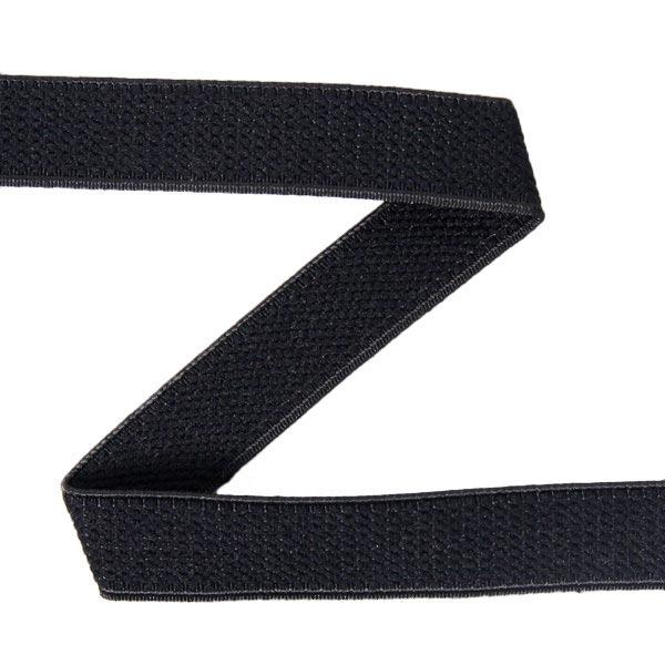 Bande élastique velours 580 – noir | YKK
