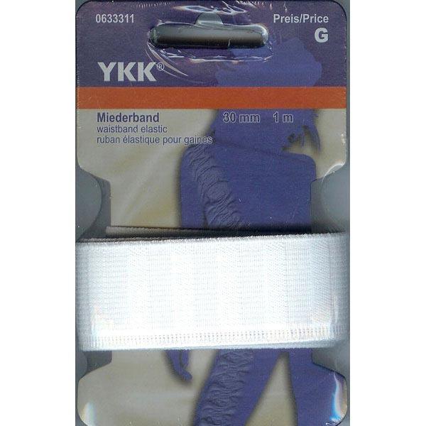Bande de corsage élastique 501 [1m] – blanc | YKK
