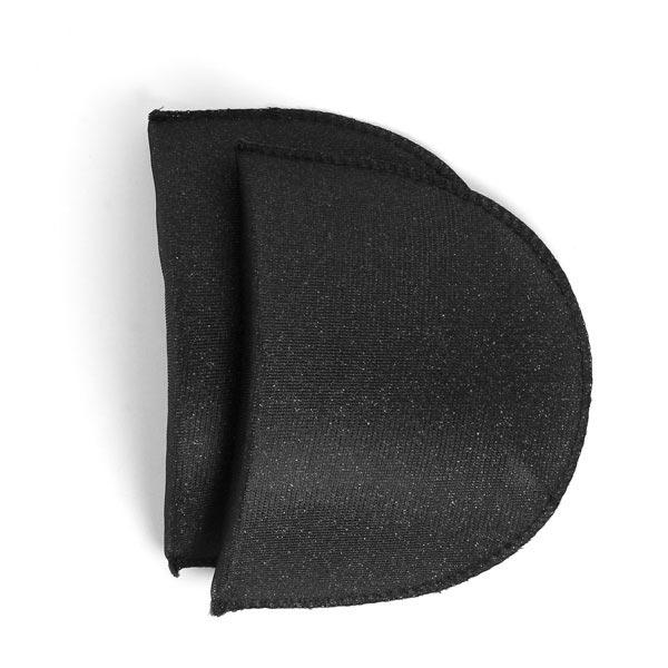 Schulterpolster für Blusen & Kleider [14,5 x 10,5 cm] - schwarz | YKK