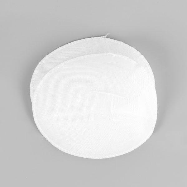 Schulterpolster für Raglan Blusen & Kleider [12 x 15 cm] - weiss   YKK