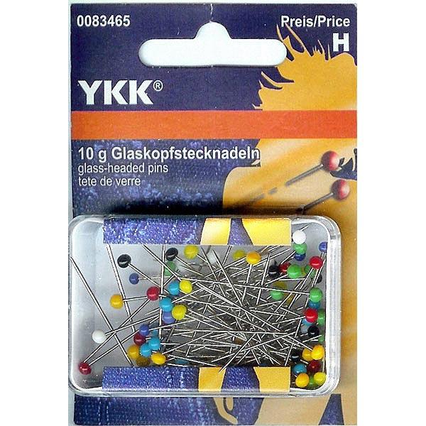 Épingles à tête de verre [10 g] | YKK