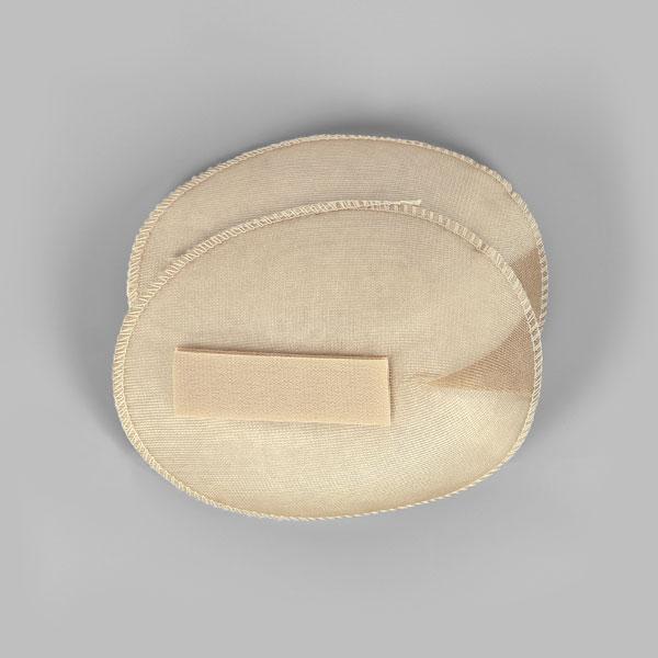 Schulterpolster mit Klett für Raglan Blusen & Kleider [12 x 15 cm] - haut | YKK