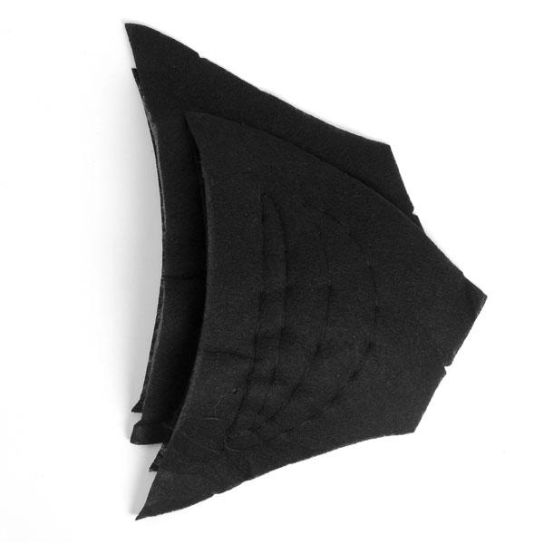 Épaulettes pour manteaux & vestes 2 – noir | YKK