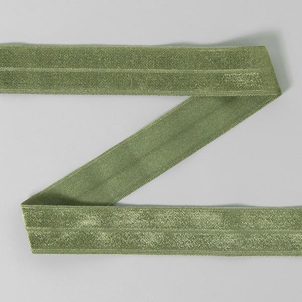 Ruban de bordage élastique 078 – olive foncé