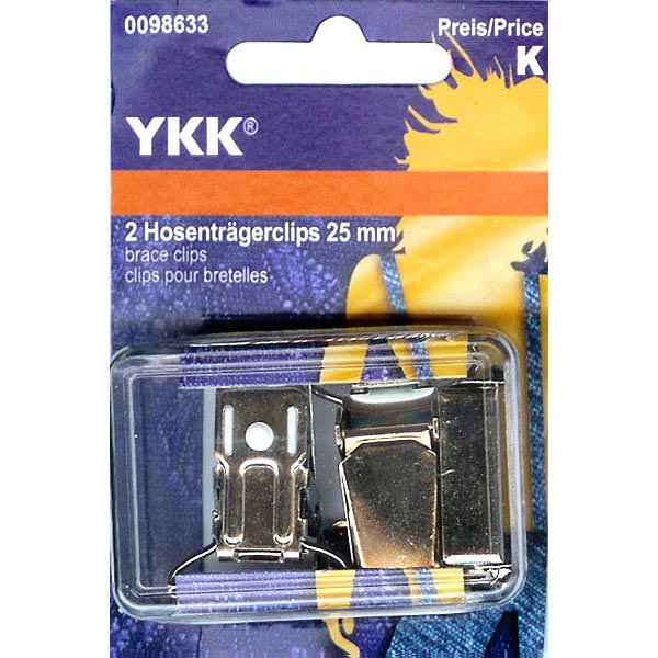 Clips pour bretelles de pantalon | YKK