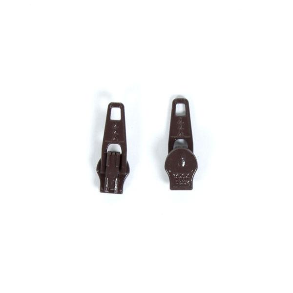 Curseur métallique (570) – marron foncé | YKK
