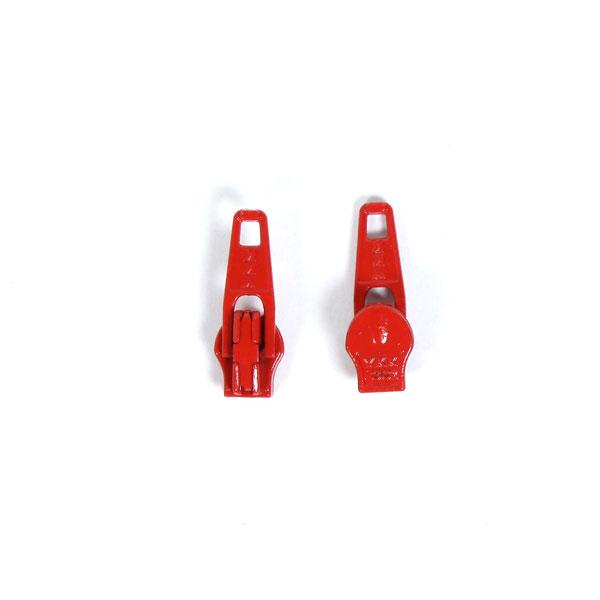 Curseur métallique (820) – rouge clair   YKK