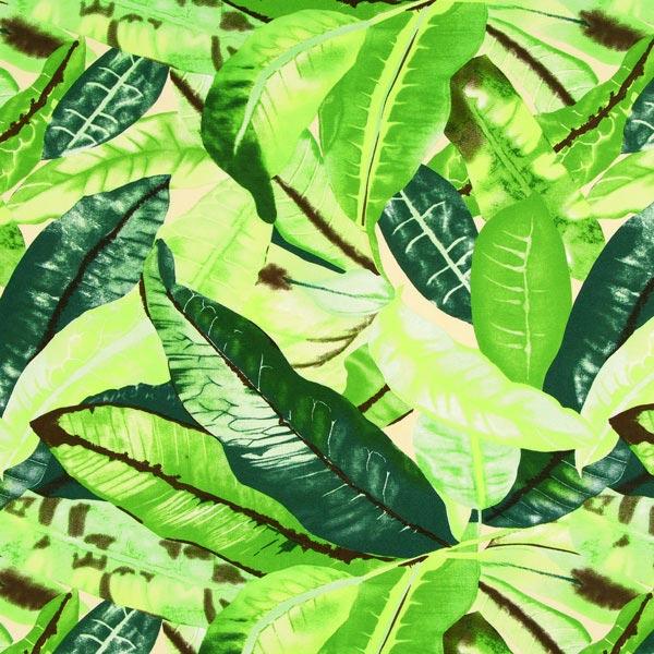 Outdoor Dekostoff Acrisol Estampados – grün