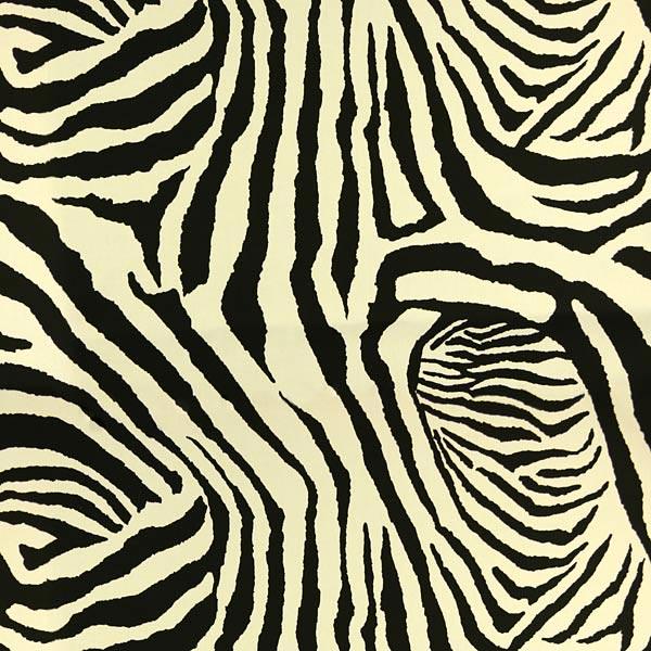 Tissu de décoration d'extérieur Acrisol Fidji – noir/blanc