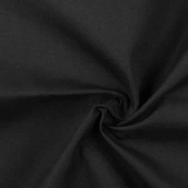 Outdoor Dekostoff Acrisol Liso – schwarz