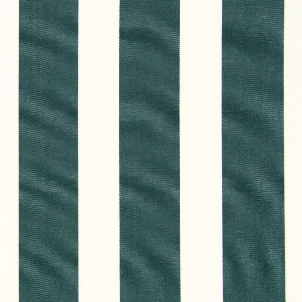 Tissu de décoration d'extérieur Acrisol Listado – écru/vert foncé