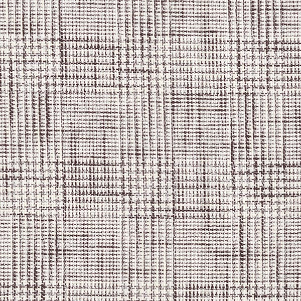 Anzugstoff Baumwollmix Glencheck – wollweiss/schwarzbraun