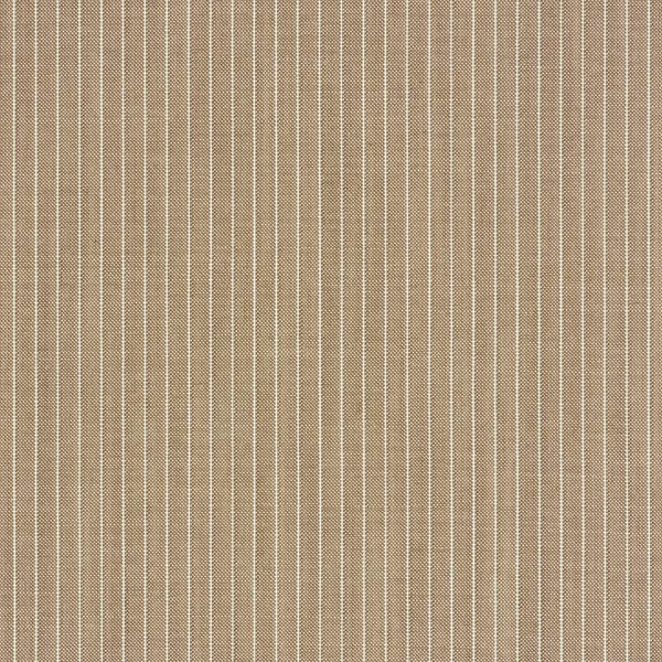 Tissu pour costume 100% laine vierge rayures fines – beige/blanc