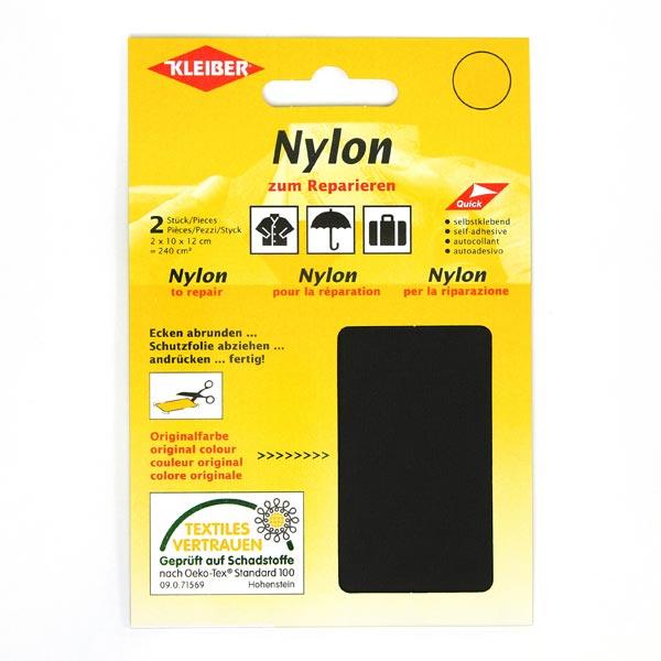 Flicken Nylon – schwarz