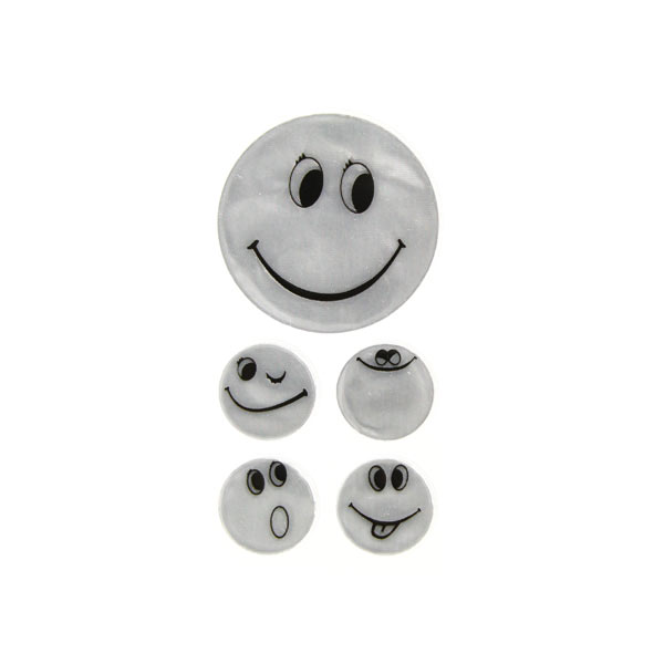 Applikation Reflex-Sticker Smiley 2 | Kleiber