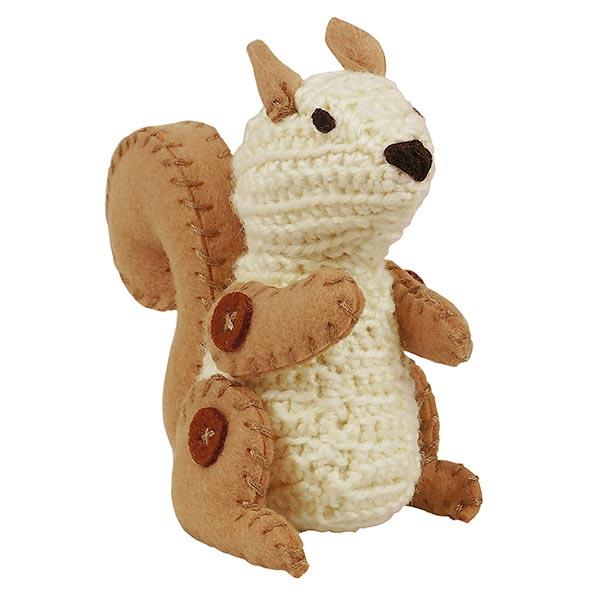 Kit de bricolage Animal au crochet «Écureuil» |