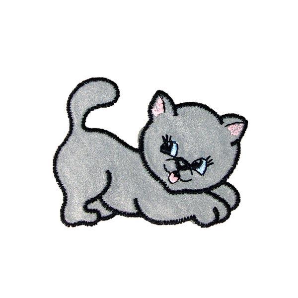 Applikation – Reflex-Motiv Katze | Kleiber