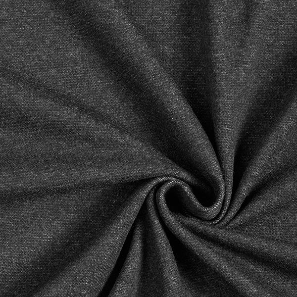 Strick Jacquard Recycelt uni – anthrazit