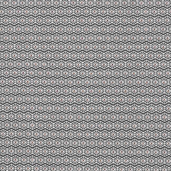 Jersey coton Losanges scintillantes – noir