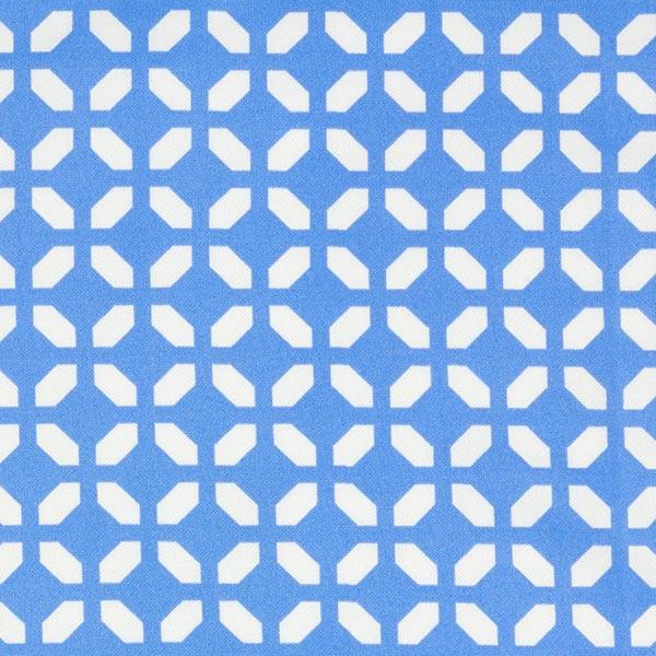 Scuba Losanges – bleu clair/blanc