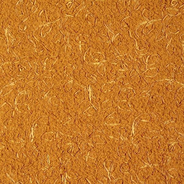 Tissu peluche brodé – caramel