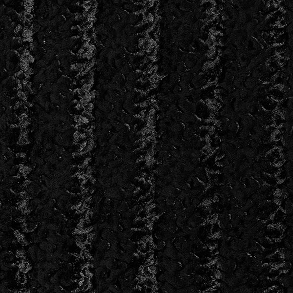 Fourrure synthétique Bouclettes krimmer – noir