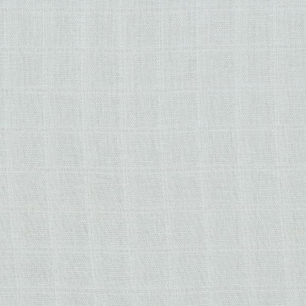 Mousseline / Tissu double crêpe Été chaud – gris bleu