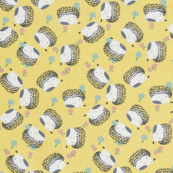 Tissu de décoration cretonne Hérisson – curry