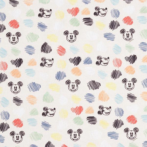 Disney Cretonne Mickey Skizze – wollweiss
