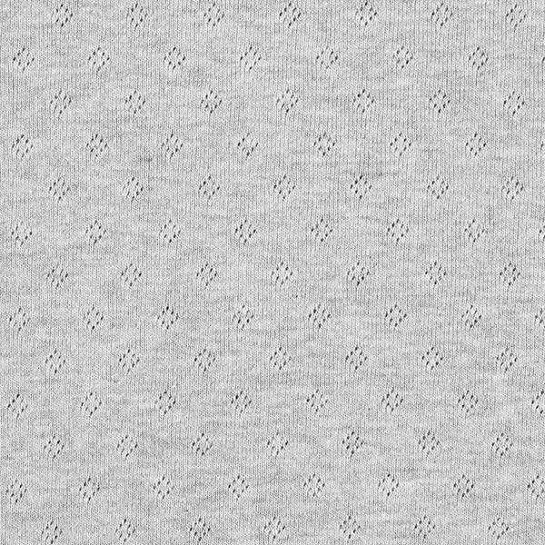 Jersey finement tricoté à motif ajouré Melange – gris