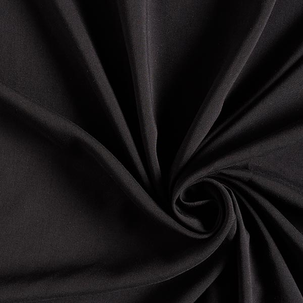 Tissu en viscose tissé Fabulous – noir