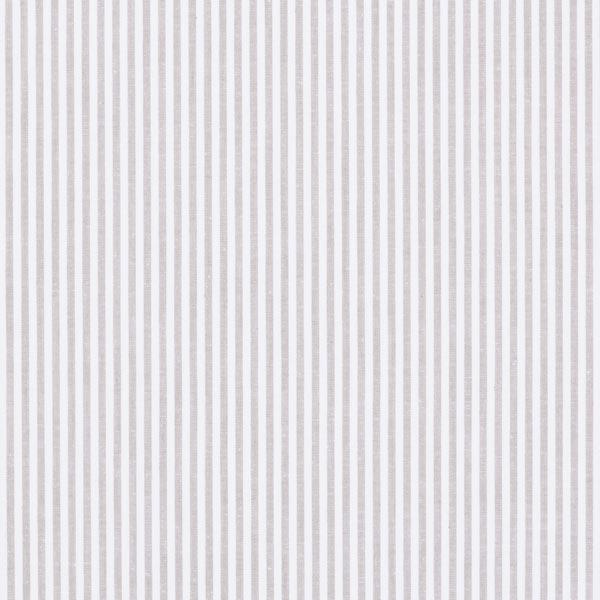 Baumwollpopeline Streifen, garngefärbt – grau/weiss