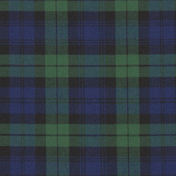 Carreau écossais Stretch – navy/vert