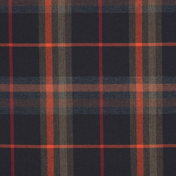 Carreau écossais Stretch – marron foncé