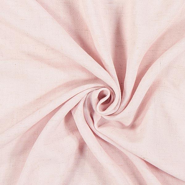 Viskose-Leinen Struktur uni – rosa