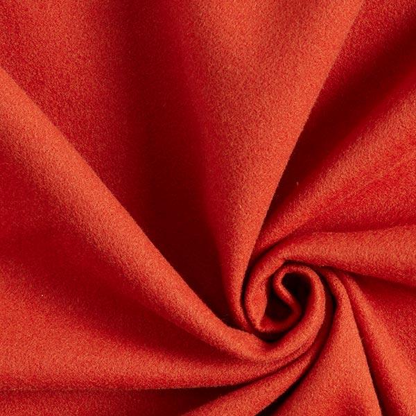 Tissu de manteau Eloy – rouge-orange