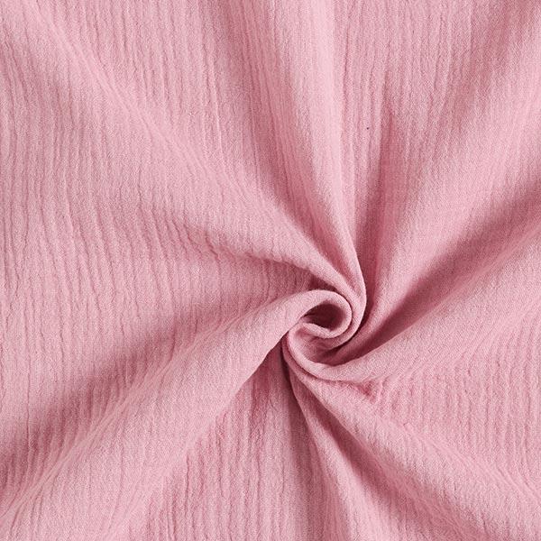 Tula Musselin/ Doppel-Krinkel Gewebe GOTS – pastellviolett