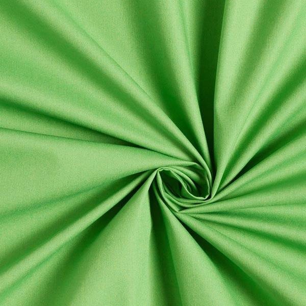 Tissu en coton Popeline Uni – vert herbe