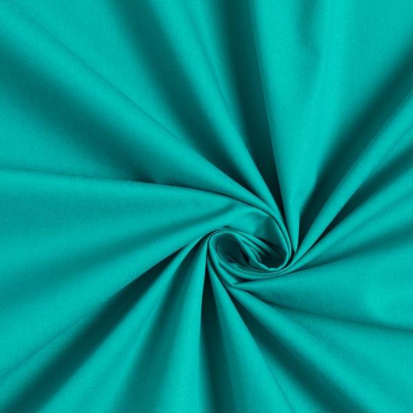 Tissu en coton Popeline Uni – vert menthe