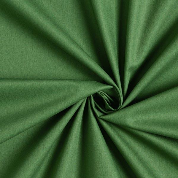 Baumwollstoff Popeline Uni – dunkelgrün
