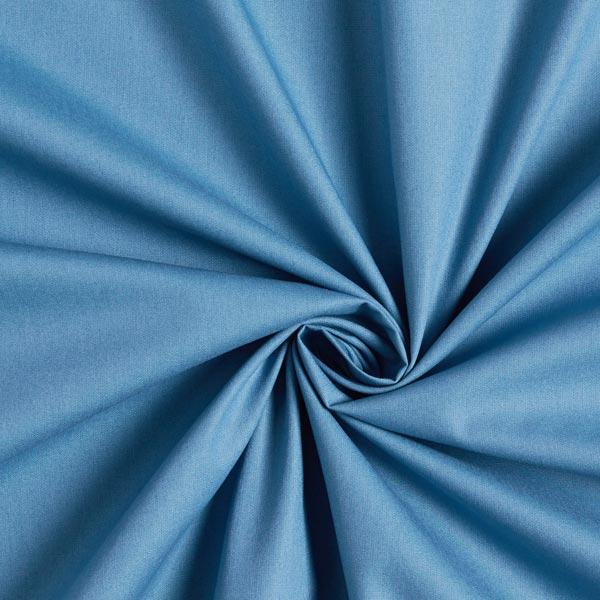 Tissu en coton Popeline Uni – bleu jean