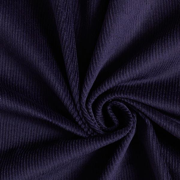 Elastischer Genuacord, vorgewaschen – marineblau