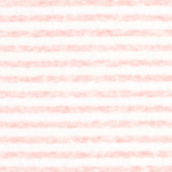 Tissu Nicki Rayures – rose/blanc