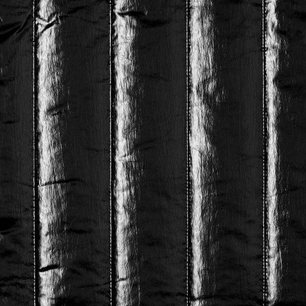 Steppstoff Edler Glanz – schwarz