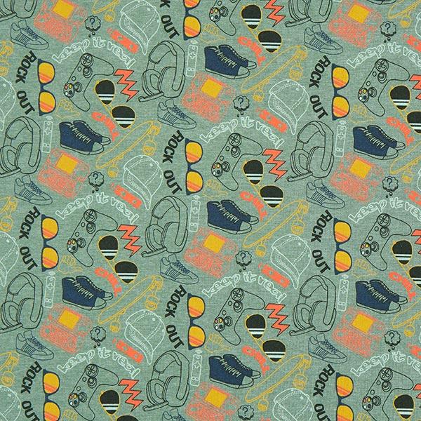 Jersey coton matière cool – roseau