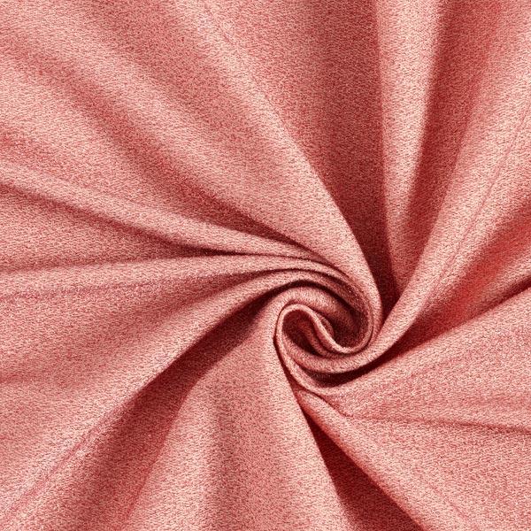 Glitzer Jersey mit hautschmeichelnder Rückseite – lachs