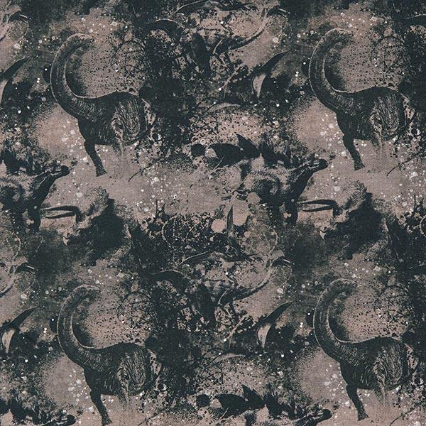 Jersey de coton Jurassic World Dark – gris foncé